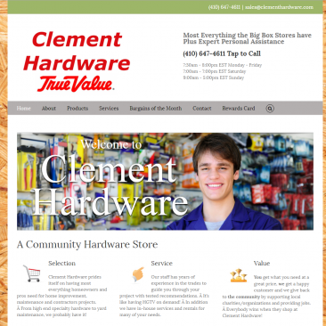 Clement_Hardware